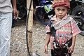 Anak muda dari kasta kerajaan, Acara Penguburan, Sumba Timur, NTT, Indonesia.jpg