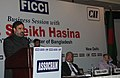 Anand Sharma addressing the Business Luncheon Meeting by FICCI, Confederation of Indian Industry (CII) and Associated Chambers of Commerce and Industry (ASSOCHAM), in New Delhi on January 12, 2010.jpg