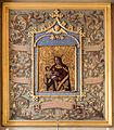 Ancien encadrement du tableau de la Vierge à l'Enfant, basilique Notre-Dame-de-Bonne-Nouvelle, Rennes, France.jpg