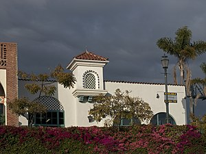 National Register of Historic Places listings in Santa Barbara County, California - Image: Andalucia Building Santa Barbara 2