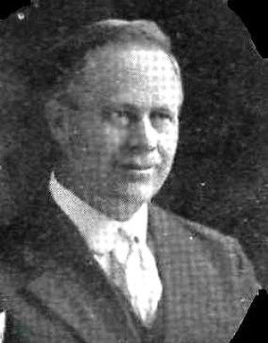 Andrew B. Christenson - Andrew B. Christenson ca. 1917