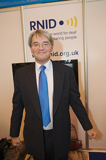 English: Andrew Mitchell, British politician a...