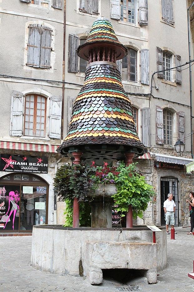 Monument historique à Anduze