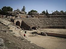 anfiteatro merida espana