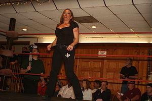 Angel Orsini - Orsini in the ring at a WSu event in 2010