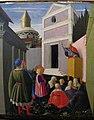 Angelico, storie di s. nicola, nascita, vocazione e dono alle 3 fanciulle, 1437 o 1447, 03.JPG
