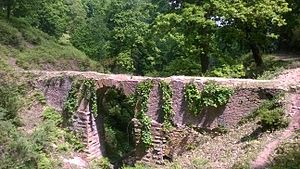 Edough Massif - Roman aqueduct in the Edough Massif.