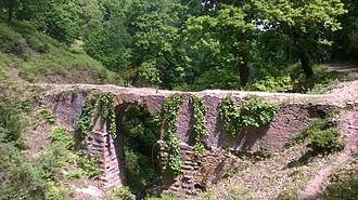 Edough Massif - Roman aqueduct in the Edough Massif.