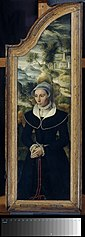 Wing of a Triptych with the Portrait of Elisabeth Canneel