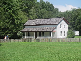 Great Smoky Mountains National Park - The Becky Cable House in Cades Cove