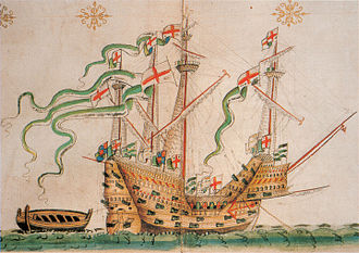 "History of the Royal Navy - ""Peter Promengrate"" sister ship of the ""Mary Rose"""