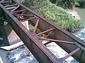 Antiga ponte ferroviária (Ytuana) sobre o Ribeirão Piraí no limite dos municípios de Salto e Indaiatuba - panoramio.jpg
