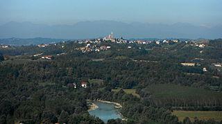 Antignano Comune in Piedmont, Italy