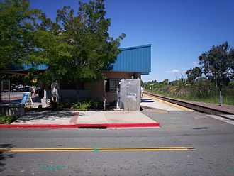 Antioch–Pittsburg station - Image: Antioch California Amtrak Station 4
