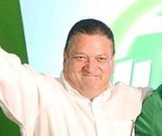 Costa Rican general election, 2014 - Image: Antonio Álvarez asume Jefatura de campaña presidencial de Johnny Araya en setiembre de 2012 cropped