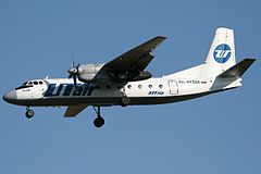 An-24 linii UTair Express
