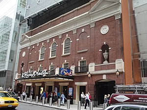 Stephen Sondheim Theatre - The Stephen Sondheim Theatre in 2011
