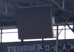 MDCC-Arena - Image: Anzeigetafel Stadion Magdeburg