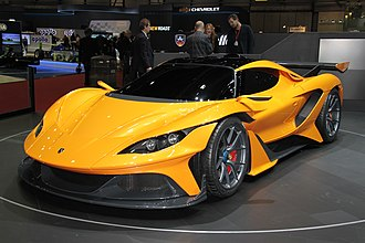 Apollo Arrow - Apollo Arrow at the 2016 Geneva Motor Show