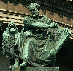 Apostle Mark on St.Isaac cathedral (SPb).jpg
