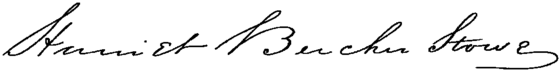 Appletons' Stowe Harriet Beecher signature.png