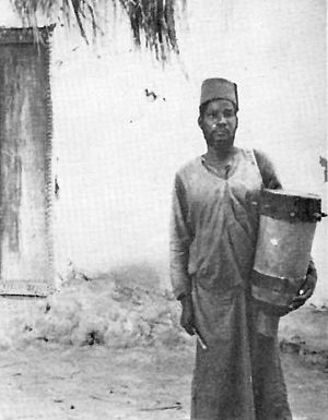 Afro-Arab - Afro-Arab man of the Congo (ca. 1942).