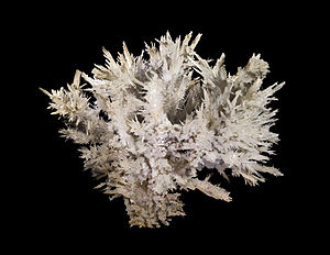 Aragonite - Aragonite from Salsigne mine, Salsigne, Aude, France - Size: 30x30x20 cm