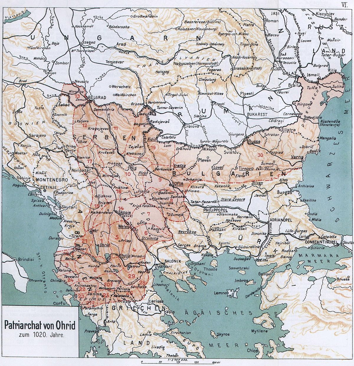 Map Macedonian Orthodox Ch...
