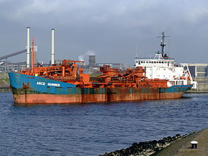 Arco Humber p3 at IJmuiden, Port of Amsterdam, Holland.JPG