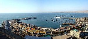 Arica port (Jan. 2008)