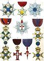 Aristide Michel Perrot - Collection historique des ordres de chevalerie civils et militaires (1820) pl. XXVI.jpg