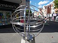 Armillary outside Waterstones bookstore, Sutton, Surrey, Greater London (2) - Flickr - tonymonblat.jpg