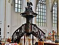 Arnhem Grote Kerk Sint Eusebius Innen Kanzel 2.jpg