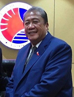 Secretary of Transportation (Philippines) - Image: Arthur Tugade Aug 2017