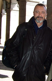 Arturo Pérez-Reverte Spanish writer and journalist
