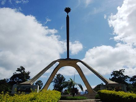 The Arusha Declaration Monument Arusha Declaration Monument.jpg