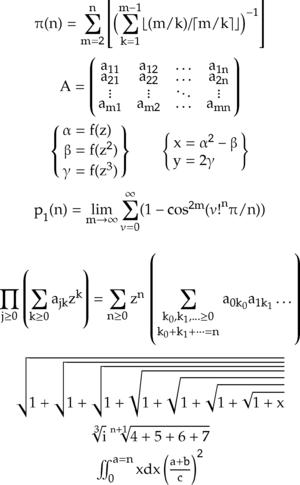 Asana-Math - Image: Asana math sample
