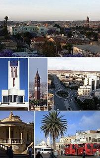 Asmara Capital of Eritrea