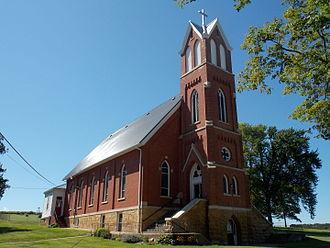 Charlotte, Iowa - Assumption Catholic Church
