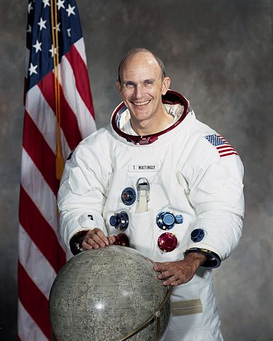 Astronaut Ken Mattingly, NASA photo (1971)Source: Wikipedia (jsc.nasa.gov unavailable March 2019) 385px-Astronaut_Thomas_K._%28Ken%29_Mattingly.jpg