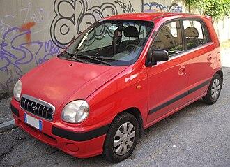 Hyundai Atos - The Original Hyundai Santro