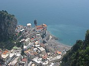 Atrani at the Amalfi coast.