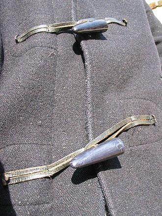 Duffel coat - Toggle fastenings