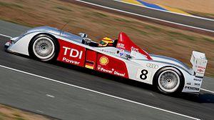 Audi R10 (driven by Frank Biela)