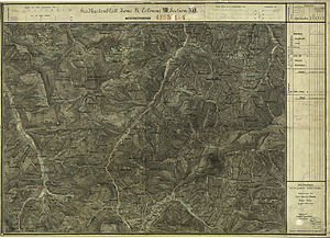 Rohr im Gebirge - 1873 map of the region, Military-Geographical Institute, Austro-Hungarian Monarchy