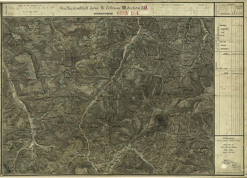 File:Aufnahmeblatt 4855-2 Rohr im Gebirge, Hohenberg Kleinzell.jpg