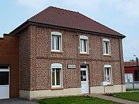 Aumerval (Pas-de-Calais, Fr) mairie.JPG