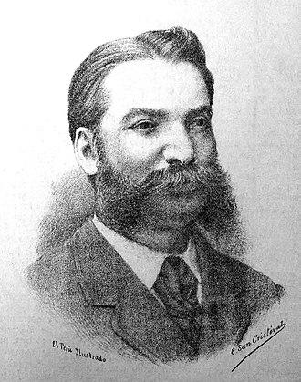 Aurelio Denegri - A picture of Aurelio Denegri, c. 1890