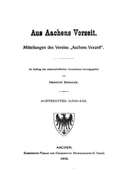 File:Aus Aachens Vorzeit 18 Jg 1905.djvu