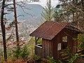 Aussichtspunkt Welzberghütte, Blick auf Calw-Hirsau, u. a. auf das Benediktinerkloster St. Peter und Paul - panoramio (1).jpg